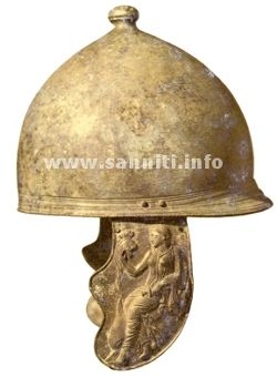 Montefortino helmet